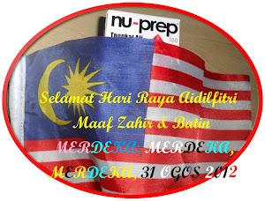 Selamat Hari Raya Aidilfitri dan Merdeka 31 Ogos 2012,Nu-Prep 100 Biotropics Malaysia Berhad