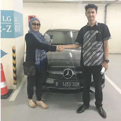 Pembelian CLA 200 AMG a/n Ibu Sri Wahyuni