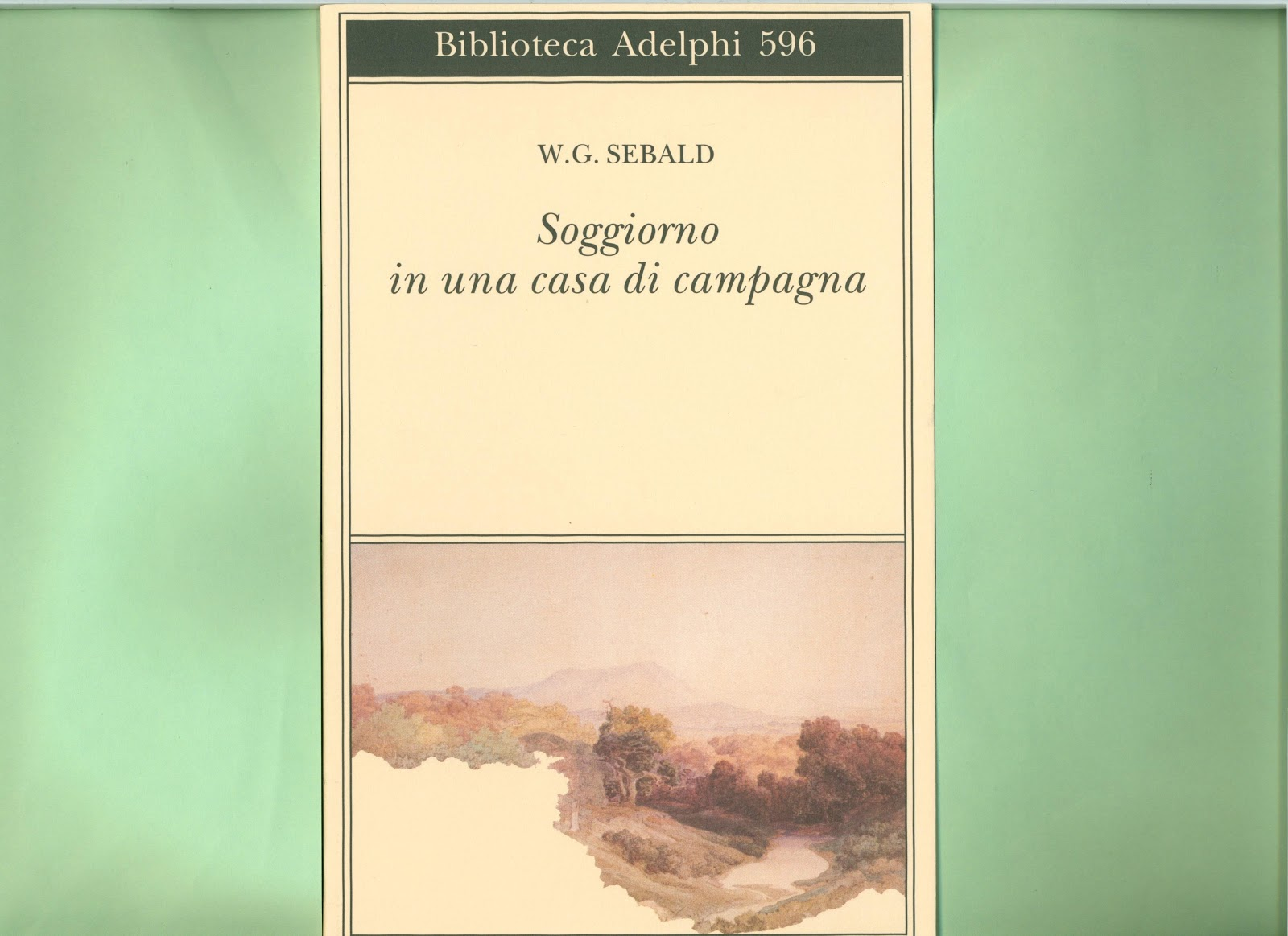 Libreria Torriani di Canzo: Sebald. Soggiorno in una casa ...