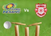 Live Cricket Streaming HD Video Score Indian Premier League match Mumbai Indians vs Kings XI Punjab Online Free Set Max.