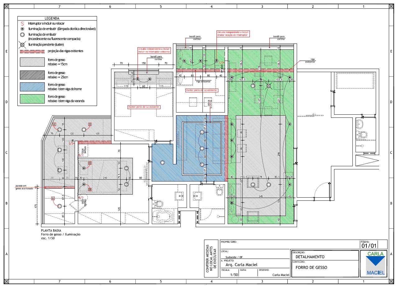 Arquitrecos: Apresentação de Projeto Detalhamento de Banheiro #1B65B0 1286 930