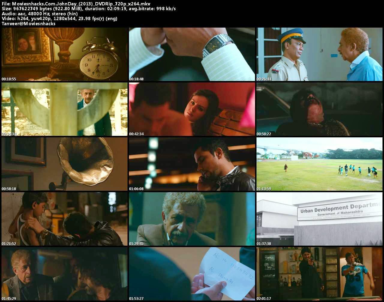Screenshot of John Day (2013) 720p Dvd x264