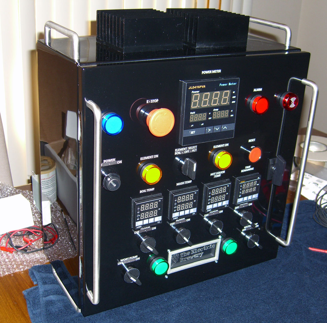 Rotten's Electric Brewery: Control Panel Wiring