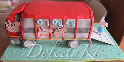 torta camion peppa pig