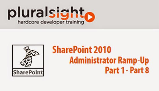 Pluralsight – SharePoint 2010 Administrator Ramp-Up – Part 1-8