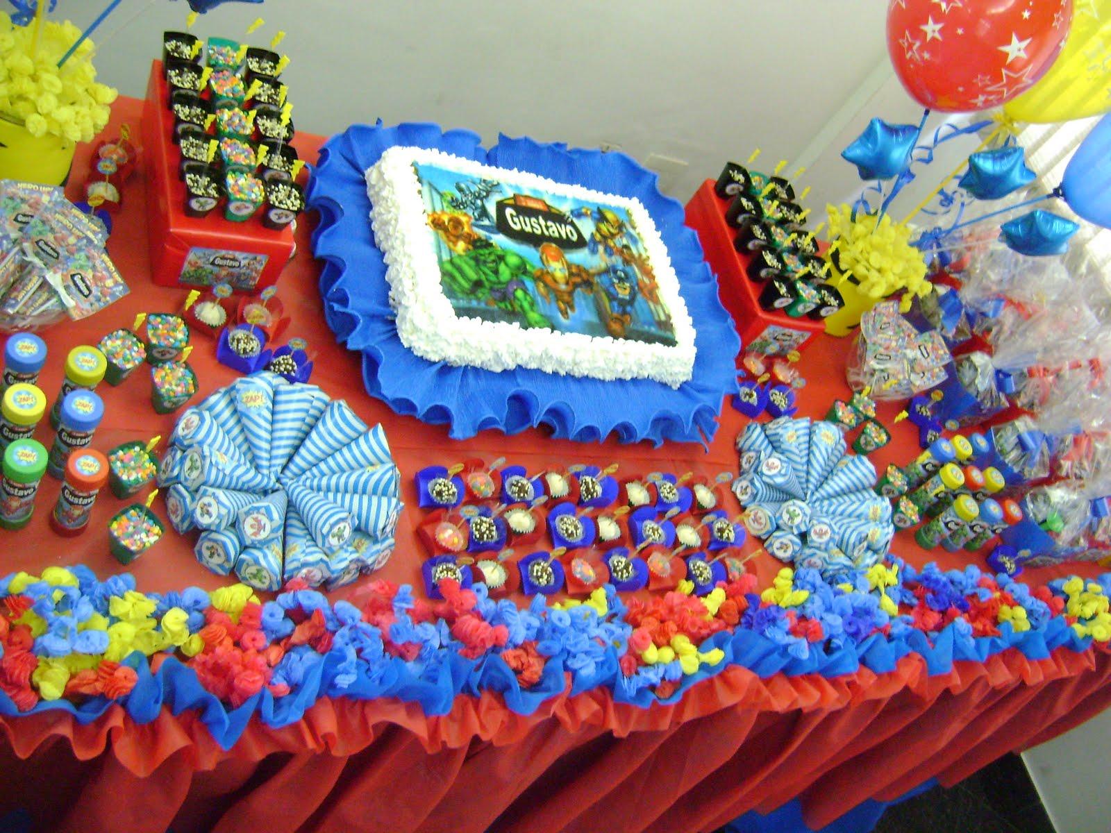decoracao festa wolverine : decoracao festa wolverine:Arte de Presentear Personalizados: Festa dos Herois Marvel – Gustavo 3