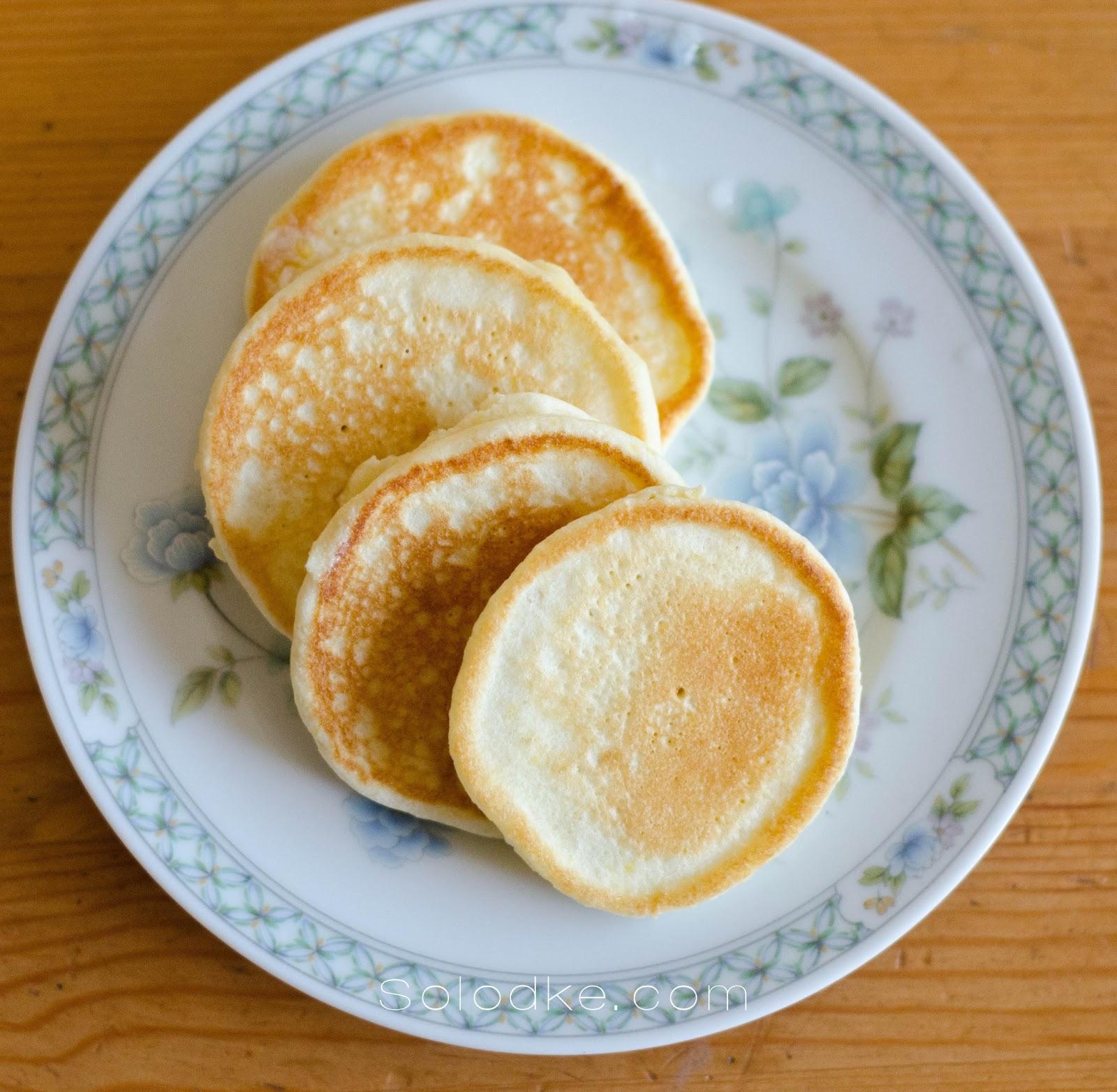 Как сделать оладьи на кефире с яйцами 20