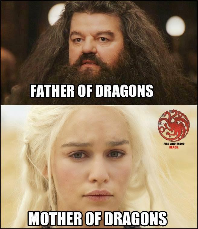 game of thrones memes dragon khaleesi hagrit