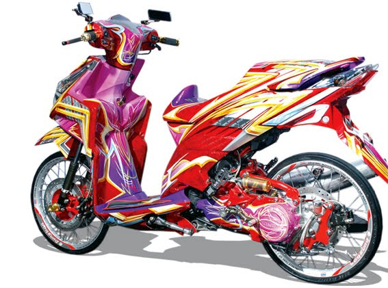 Super Modif Motor VARIO title=