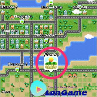Hình ảnh bản đồ trong game và khu sinh thái