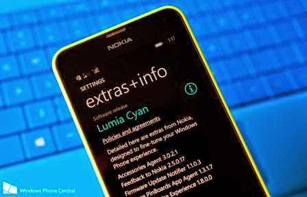 Nokia Lumia 625 mendapatkan update Windows Phone 8.1 (Lumia Cyan)