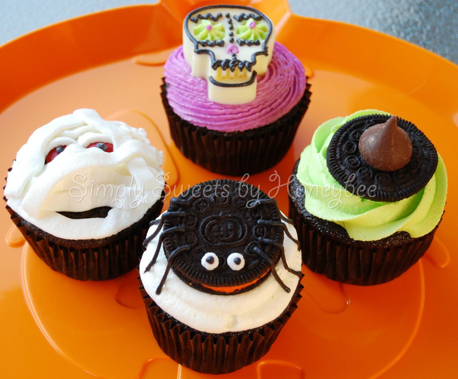 Halloween cupcakes Halloween cupcakes