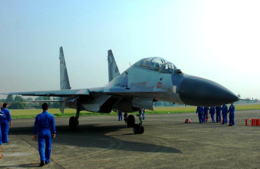 Jet Tempur Sukhoi TNI AU