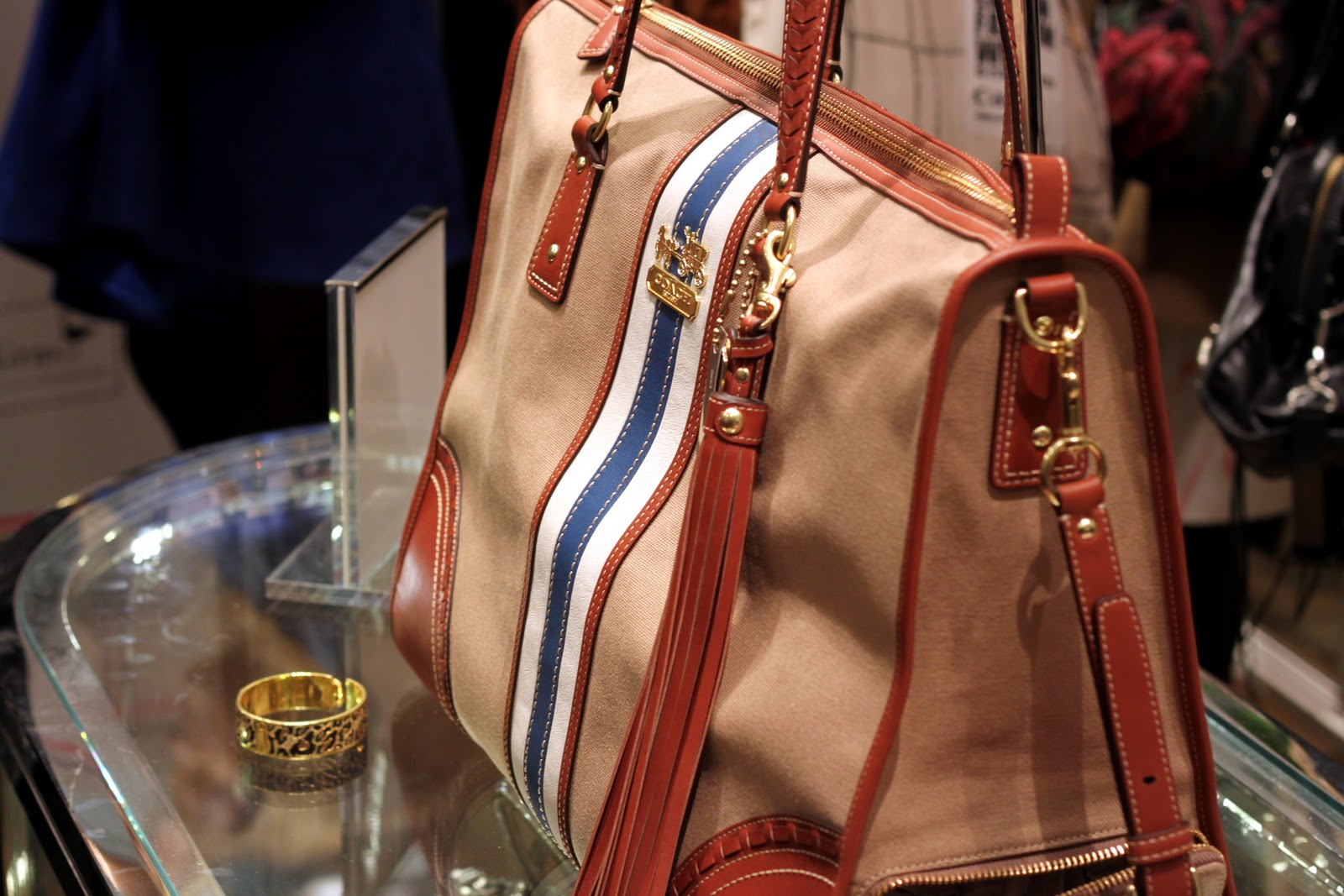 The Fashion Foie Gras and Coach collaboration blogger's tote