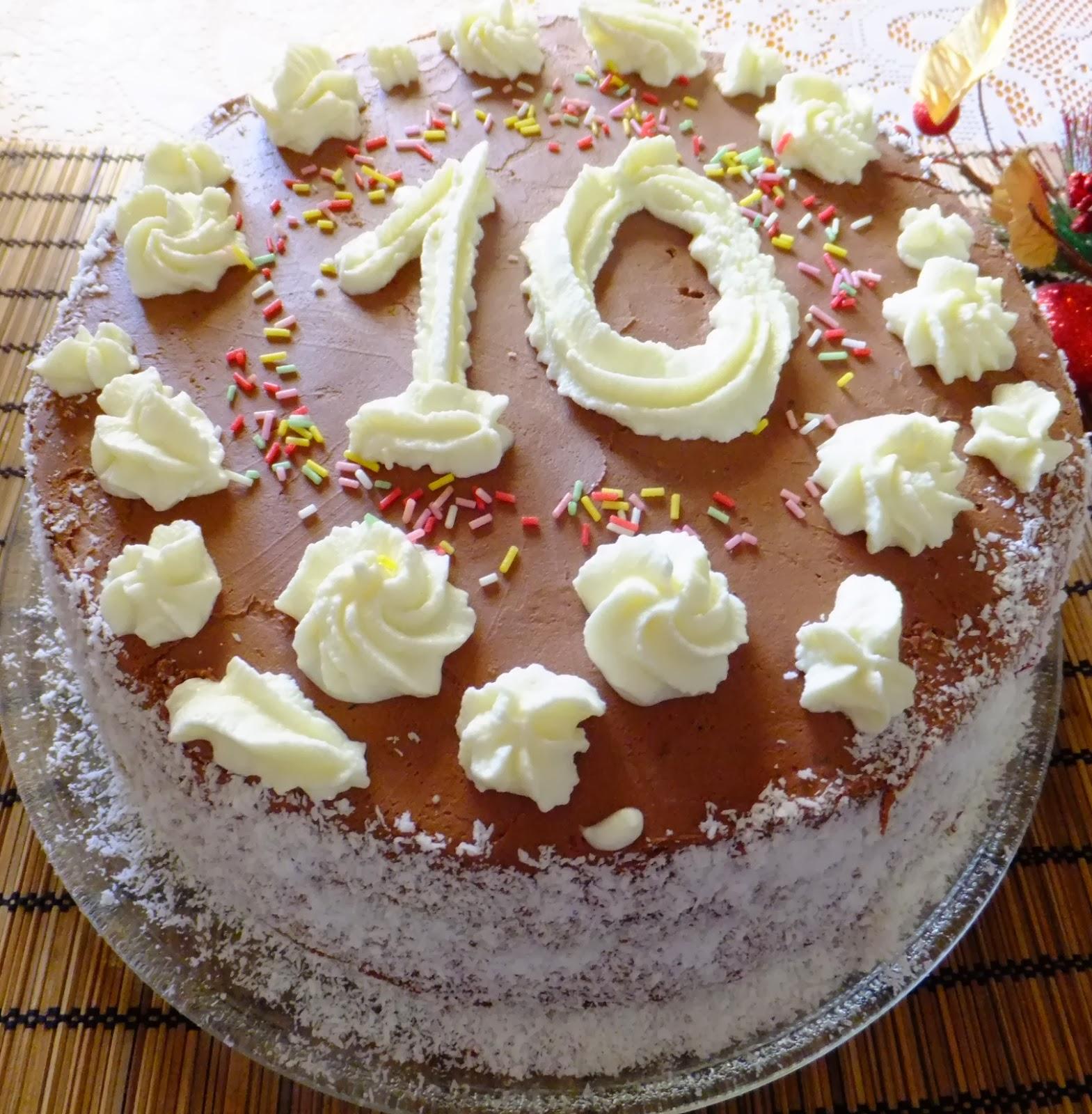 """Tort """"Chocococo"""" cu capsuni"""