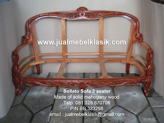 Supplier mebel klasik sofa ukir sollato klasik sofa mahoni set sofa set tamu 3 1 1 dan meja tamu sollato