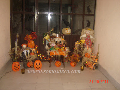 decoracion barata halloween