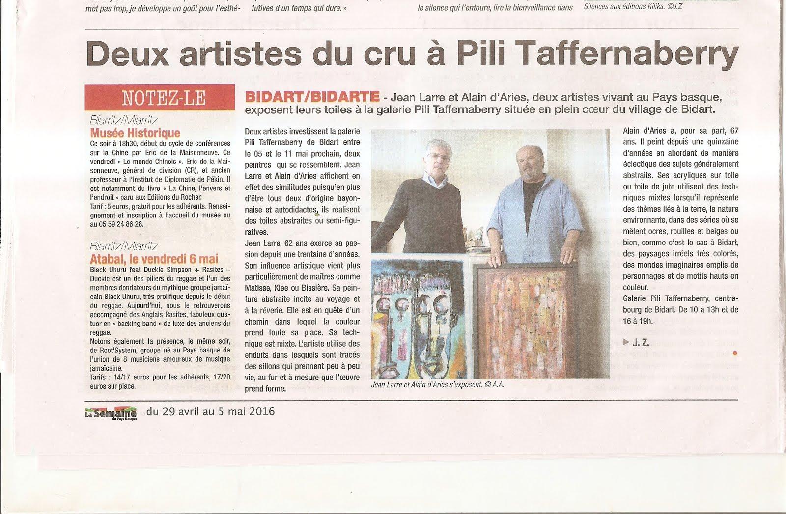 article expo Bidart