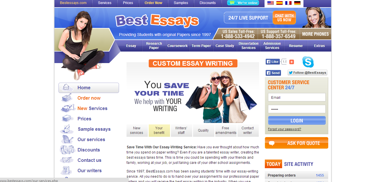 is s custom essay writing service