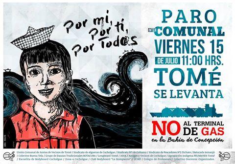 TOME: PARO COMUNAL, TOME SE LEVANTA