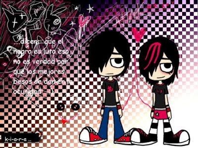 Gambar Kartun Emo