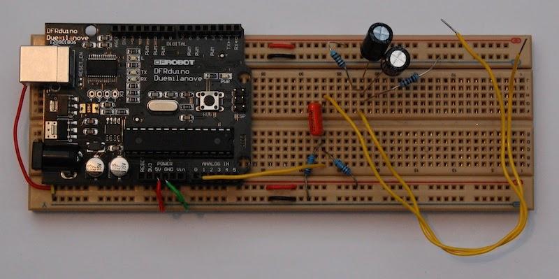 Dr monk s diy electronics arduino oscilloscope update