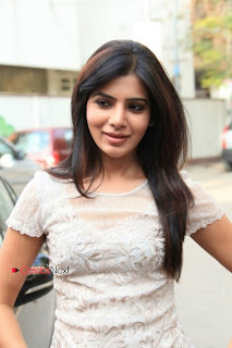 Samatha Latest Pictures in Jeans at Hemophilia Society Launch ~ Celebs Next
