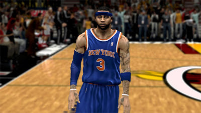 NBA 2K13 Kenyon Martin Cyberface Mod