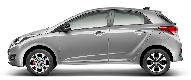 Hyundai HB20 2016 R-Spec - Prata