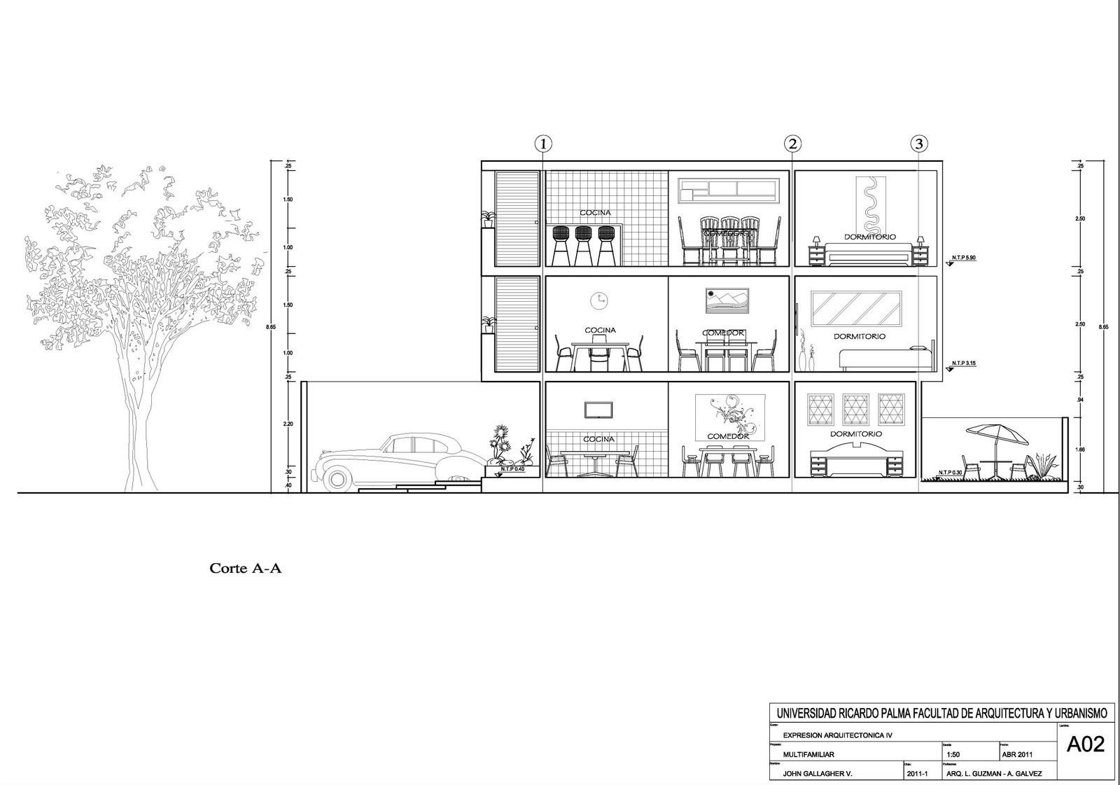 Expresi n arquitect nica 4 planos de arquitectura for Cocina plano arquitectonico