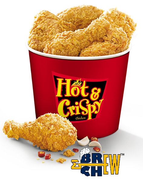 KFC India Chicken Hot and Crispy