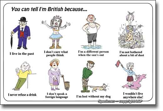THE LECTURER's EFL Smartblog: Life in the UK; The British and how ...