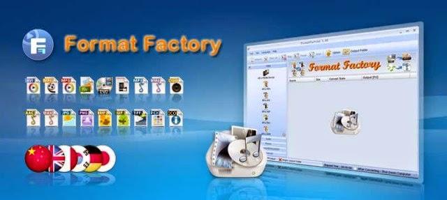 تنزيل برنامج فورمات فاكتورى 2014 FormatFactory 3.3.5.0