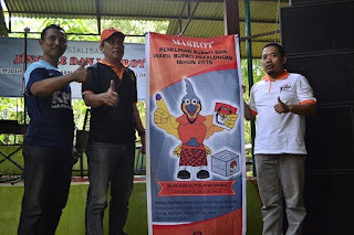 KPU Kabupaten Pekalongan Launching Burung Kutilang Emas Sebagai Maskot