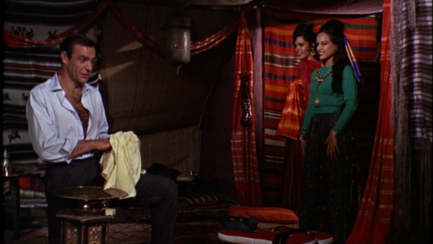 Aliza Gur Martine Beswick Gypsy http://lifebetweenframes.blogspot.com/2012/02/from-russia-with-love.html