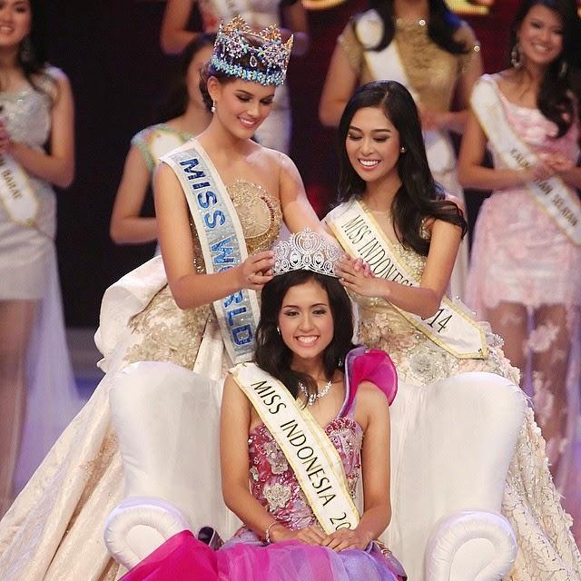Maria Hartanti Pemenang Miss Indonesia 2015