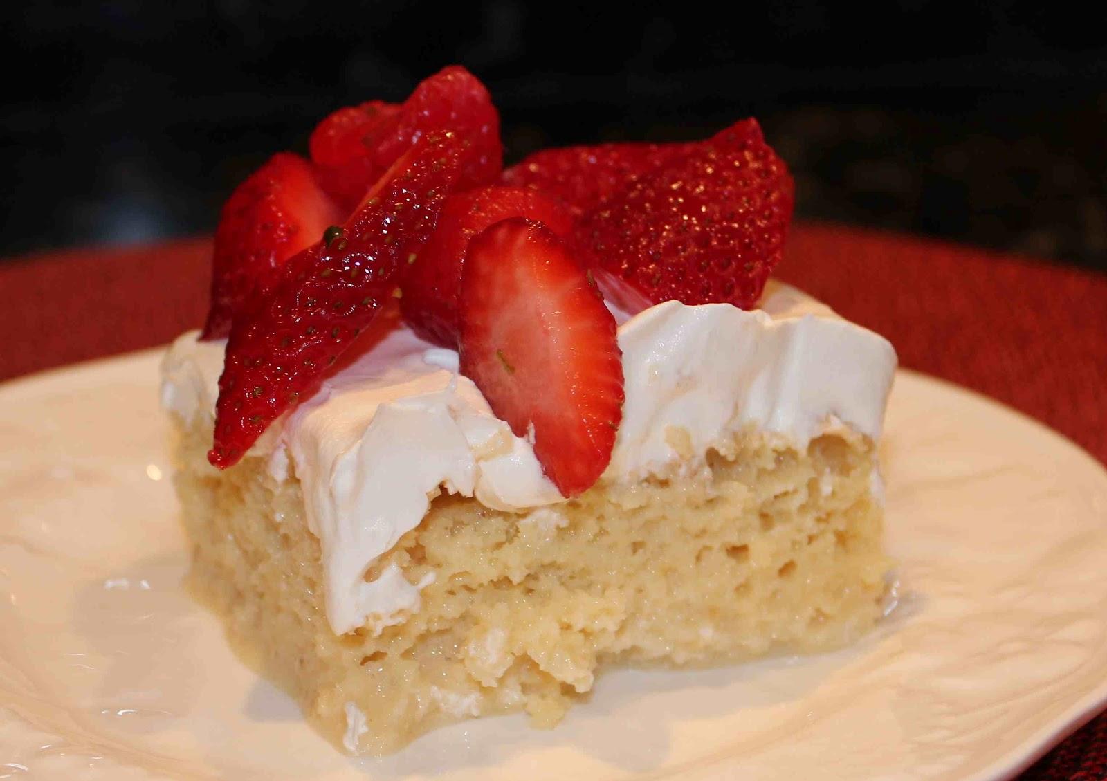 Classic Vanilla Tres Leche Cake Dallas Duo Bakes
