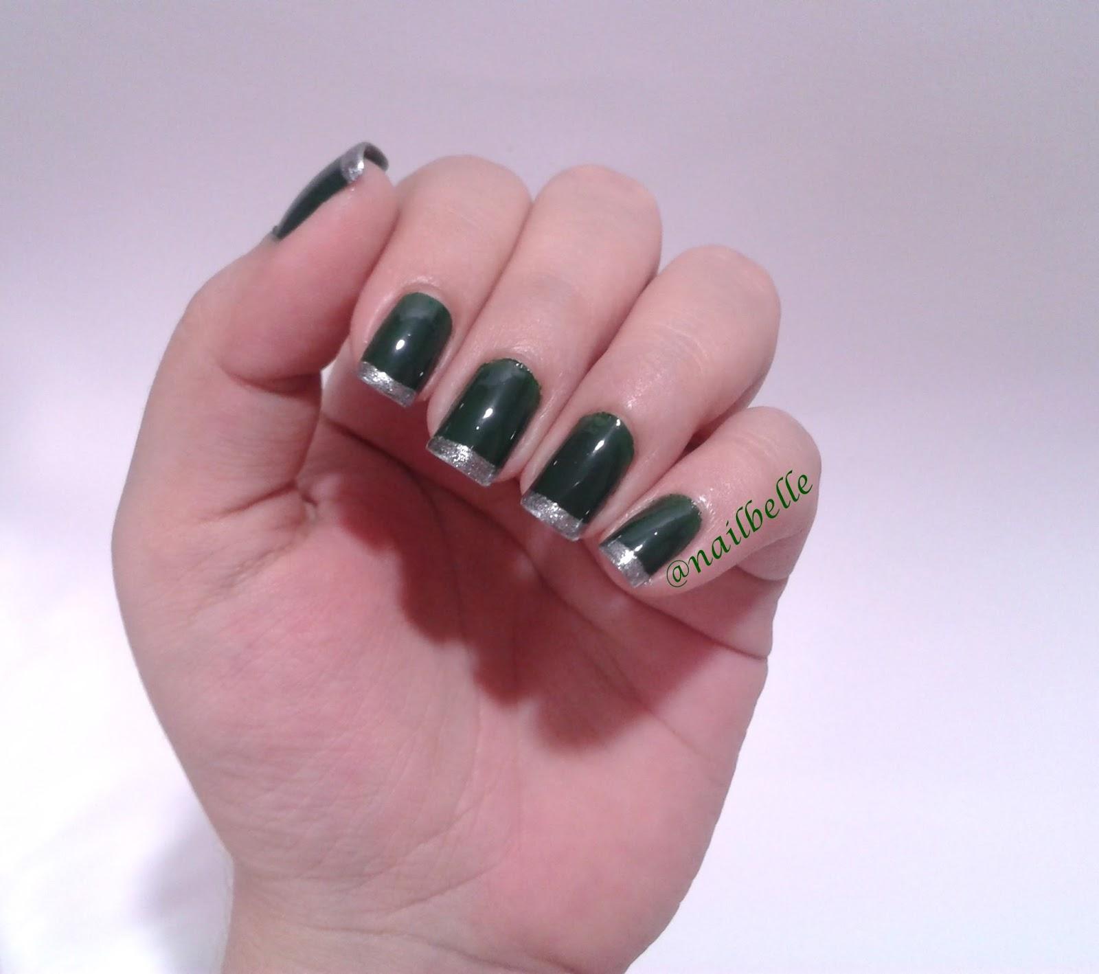 Nail La Belle: Nail Art Inglesinha Dupla