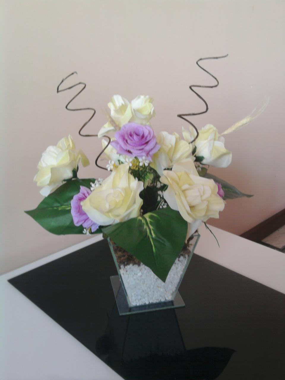 Arranjos e Decorações Artificiais -> Flores Artificiais Para Decoracao De Banheiro
