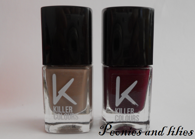 Killer colours, Kiler colours quicksand nail nail varnish, Killer colours firewater nail varnish
