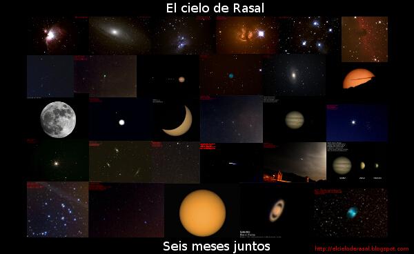 Astrofotografias El cielo de Rasal Seis meses juntos