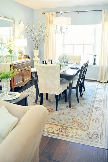 dining room rugs size under table room ornament