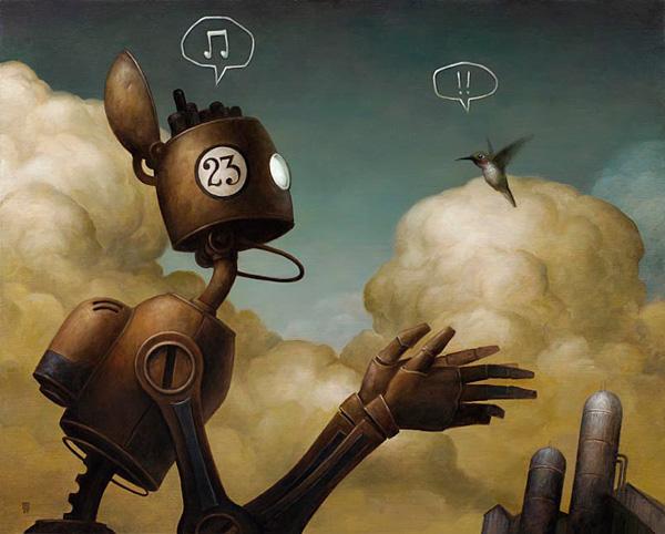 Paintings by Brian Despain