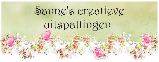 Sanne's creatieve uitspattingen
