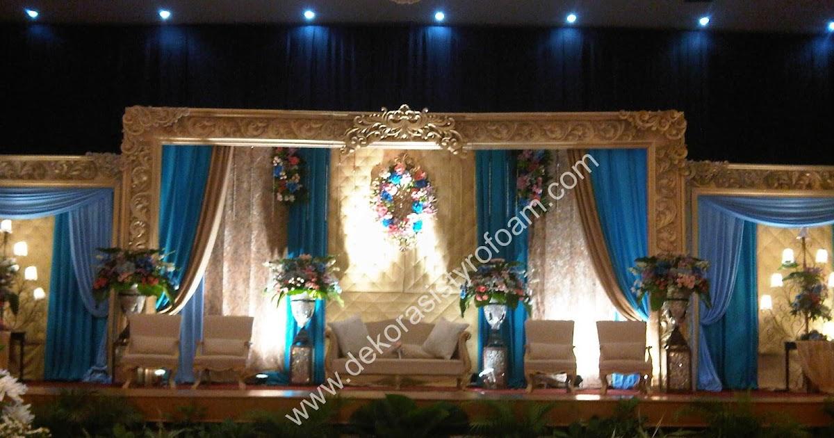 Dekorasi styrofoam dekorasi pelaminan a 2 for Dekorasi lebaran hotel