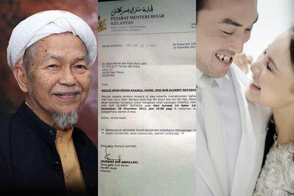 Khairul Fahmi (Apex) Dan Leuniey Akan Dinikahkan Oleh Tuan Guru Nik Aziz