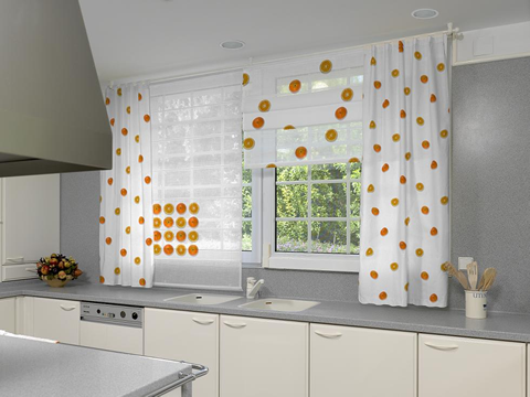 Sanaire c mo lavar las cortinas de la cocina for Cortinas de tela para cocina