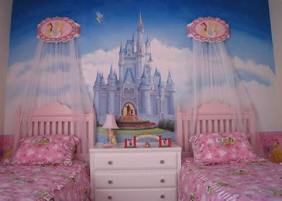 dormitorio tema princesas