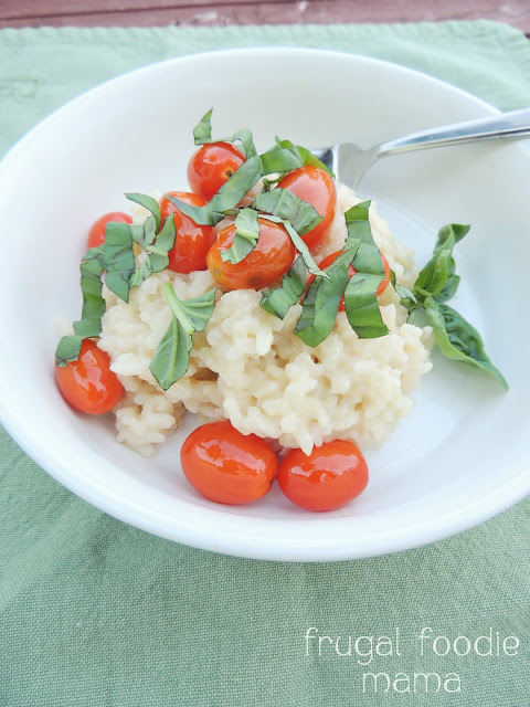 Frugal Foodie Mama: Caprese Risotto