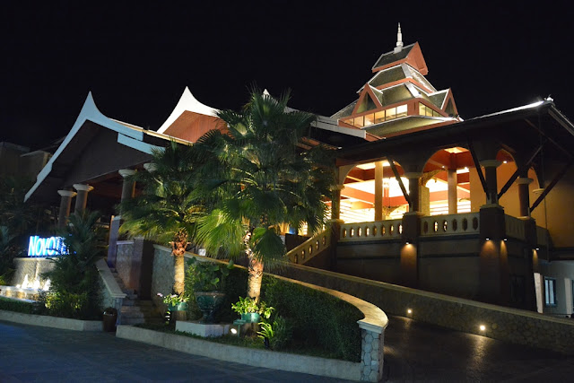 Patong Beach by night hotel